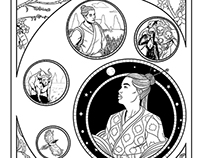 web comics - A deusa e o vaqueiro