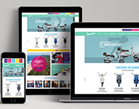 Vespa SA Website