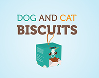 Purina - Dog and Cat Biscuits