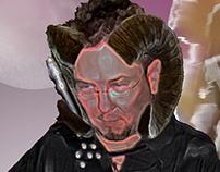 Silence the Tiefling - Digital Art