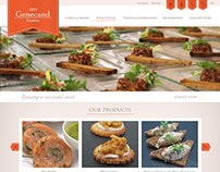Genecand Catering Webdesign