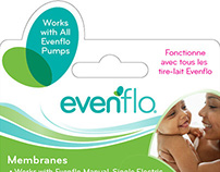 Evenflo Feeding Brand - Replacement Parts Blister Card