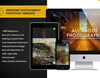 Awesome Photography Portfolio Template
