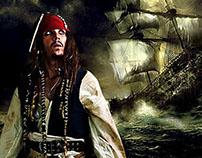 Captain Jack Sparrow - Fotografia Sósia