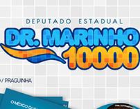 Identidade Visual para Campanha Dr. Marinho