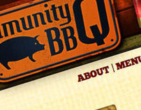 Community Q BBQ Website