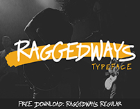 Raggedways Typeface: Free Regular Weight