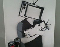 """Television, the biggest massive manipulator of minds"""