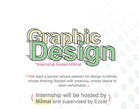 Design Internship Poster