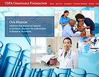CSPA Charitable Foundation Web Site