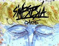 SINESTESIA / CARNE packaging mixtape