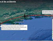 Entenda como ocorreu o acidente com Eduardo Campos