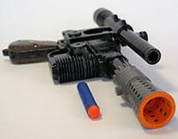 Han Solo NERF Blaster