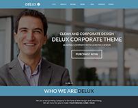 Delux 2 web design