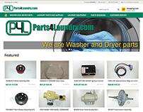 eCommerce store for commercial parts distributor co