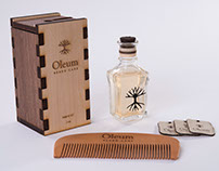 Oleum Beard Care Packaging