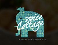 Spice Cottage Restaurant - Branding Prototypes