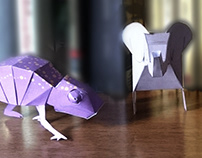 PAPERTOY for Lume Livros: THE ANIMALS
