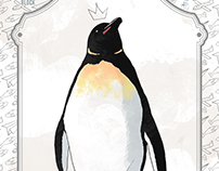 Penguin - illustration and print