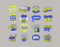 Snapchat Sticker Pack