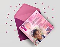 Compilado (2014-2017) Diseño de tarjetas para eventos
