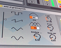 Max4Live see-d GrainSynth