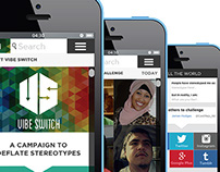 Vibe Switch: Mobile Site / App