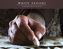 White Tailors - Website concept