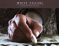White Tailors - Website concept