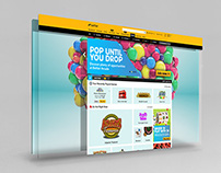 Betfair Arcade Games Website - restyle