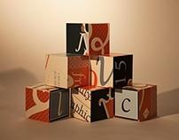 Student Work: Typographic Cubes
