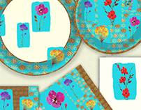 Bohemian Chic-Paper Plates
