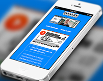 Fully Responsive Site Development - One Week Records