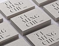 Ti-Ming Chu Brand Identity