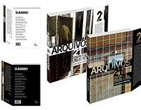 """Nova Capa para o Catálogo Acadêmico """"Arquivos"""""""