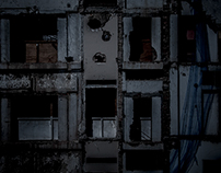 dark images from construction sites