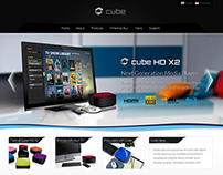Cube - Retail and Business Template