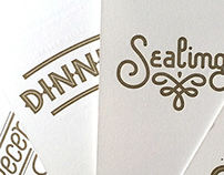 Wedding Invite Lettering