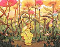 Visitng the Petals