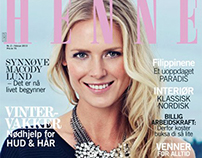 Synnøve Macody Lund cover shoot Henne Magazine