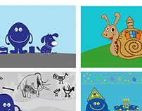 Illustrations for EU kids news