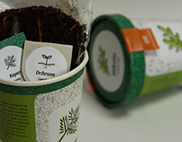 Grow-Me-Up-Cup v.2.0 / Biodegradable planting cup