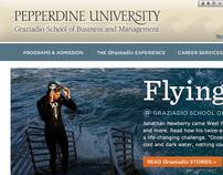 Pepperdine Graziadio Business School Website