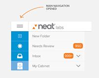 NEAT Cloud - Web App