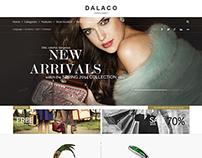 DALACO - Jewelry Store PSD Theme