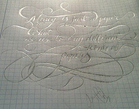 learning Calligraphy and Hand Lettering Collection - 2