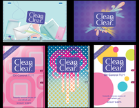 Clean&Clear Oil control Film Packaging Design
