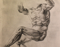 Michelangelo, A study of Anatomy 2