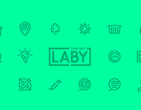 LABY - Icon Set (Available for free soon)