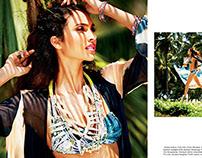 Swimwear Elle July 2013